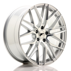JR Wheels JR28 20x8,5 ET35 5x120 Silver Machined Face