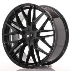 Japan Racing JR28 21x9 ET15-45 5H Blank Glossy Bla