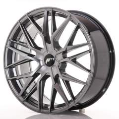 Japan Racing JR28 21x9 ET15-45 5H Blank Hyper Blac