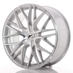 Japan Racing JR28 21x9 ET15-45 5H Blank Silver Mac