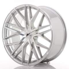 Japan Racing JR28 22x10,5 ET15-50 5H Blank Silver