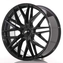 Japan Racing JR28 22x9 ET30-45 5H Blank Glossy Bla