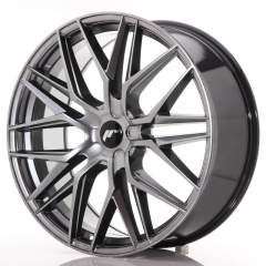Japan Racing JR28 22x9 ET30-45 5H Blank Hyper Blac