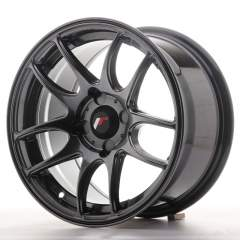 Japan Racing JR29 15x8 ET28 4H Blank Hyper Black