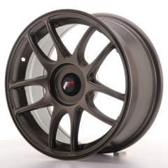 Japan Racing JR29 16x7 ET20-40 Blank Matt Bronze