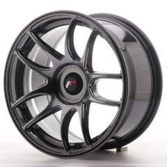 Japan Racing JR29 16x8 ET20-28 Blank Hyper Black