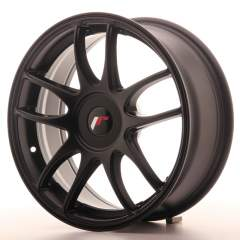 Japan Racing JR29 17x7 ET20-40 Blank Matt Black