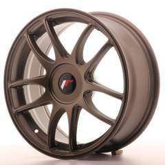 Japan Racing JR29 17x7 ET20-40 Blank Matt Bronze