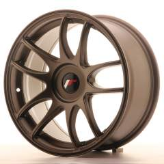Japan Racing JR29 17x8 ET20-35 Blank Matt Bronze