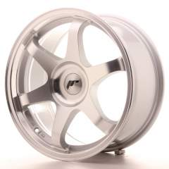 Japan Racing JR3 17x8 ET35 Blank Silver Machined