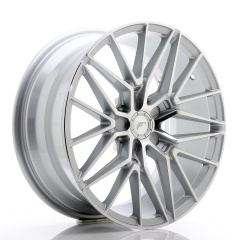 JR Wheels JR38 18x8 ET20-42 5H BLANK Silver Machined Face