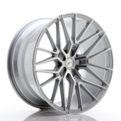 JR Wheels JR38 20x10 ET20-45 5H BLANK Silver Machined Face