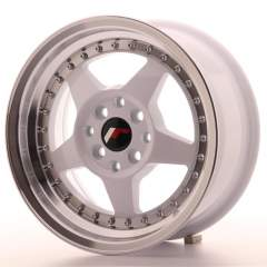 Japan Racing JR6 15x7 ET35 4x100/114 White