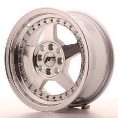 Japan Racing JR6 15x7 ET35 4x100 Machined Silver