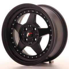 Japan Racing JR6 15x7 ET25 4x100/108 Matt Black