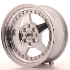 Japan Racing JR6 15x7 ET25 4x100/108 Mach Silver