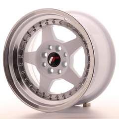 Japan Racing JR6 15x8 ET25 4x100/108 White