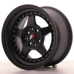 Japan Racing JR6 15x8 ET25 4x100/108 Matt Black