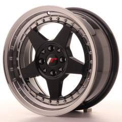 Japan Racing JR6 16x7 ET35 4x100/114 Glossy Black