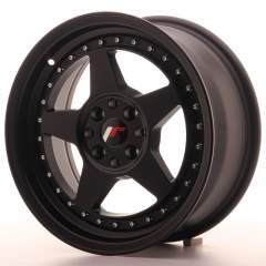 Japan Racing JR6 16x7 ET25 4x100/108 Matt Black