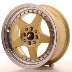 Japan Racing JR6 16x7 ET25 4x100/108 Gold