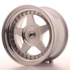 Japan Racing JR6 16x9 ET0-20 Blank Mach Silver