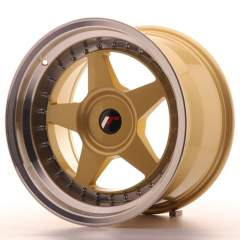 Japan Racing JR6 17x10 ET20 Blank Gold