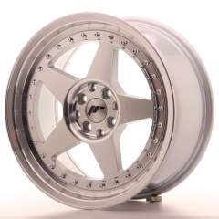 Japan Racing JR6 17x8 ET35 4x100/114 Machined Sil