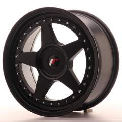 Japan Racing JR6 17x8 ET20-35 Blank Matt Black