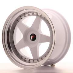 Japan Racing JR6 18x10,5 ET0-25 Blank White
