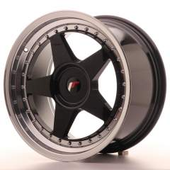 Japan Racing JR6 18x9,5 ET35-40 Blank Glossy Black
