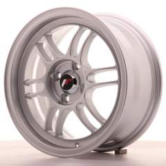 Japan Racing JR7 15x7 ET38 4x100 Silver
