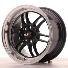 Japan Racing JR7 15x8 ET35 4x100/114 Gloss Black
