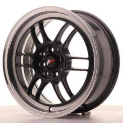 Japan Racing JR7 16x7 ET38 4x100/114 Gloss Black