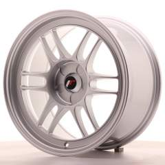 Japan Racing JR7 17x9 ET35 5H Blank Silver