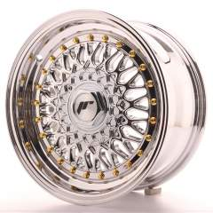 Japan Racing JR9 15x7 ET20 4x100/108 Chrome