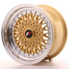 Japan Racing JR9 15x8 ET20 Blank Gold