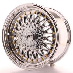 Japan Racing JR9 16x8 ET25 Blank Chrome