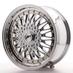 Japan Racing JR9 17x7,5 ET20-35 Blank Chrome
