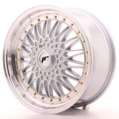Japan Racing JR9 18x8 ET35 5x100/120 Machined Silv