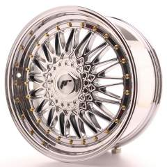 Japan Racing JR9 18x8 ET35-40 Blank Chrome