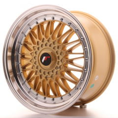 Japan Racing JR9 18x9 ET20-40 Blank Gold