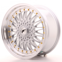 Japan Racing JR9 18x9 ET20-40 Blank Silver